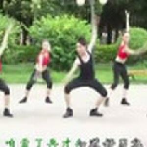 广场舞蹈视频大全 好男儿就是要当兵(正面教学)廖弟广场舞